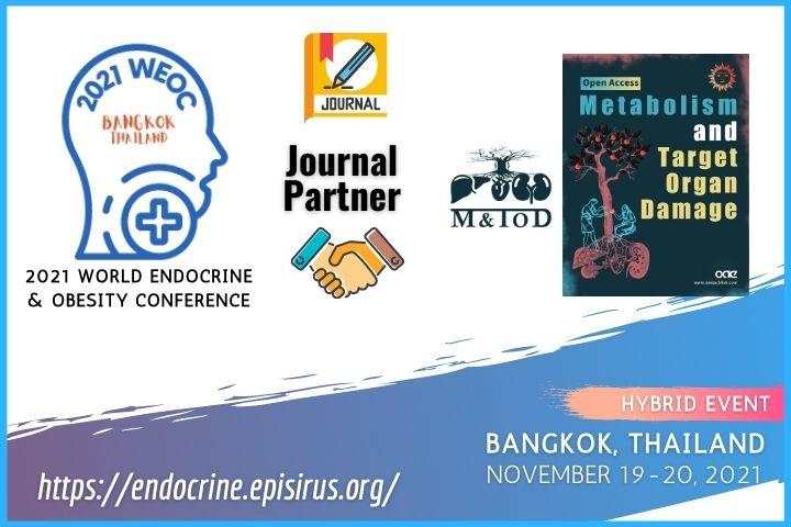 2021WEOC Endocrine conference journal partner Metabolism and Target Organ Damage (M&TOD)